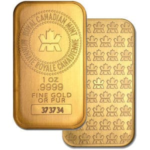 RCM Gold Bars Individual